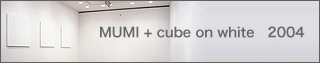 MUMI+cube on white